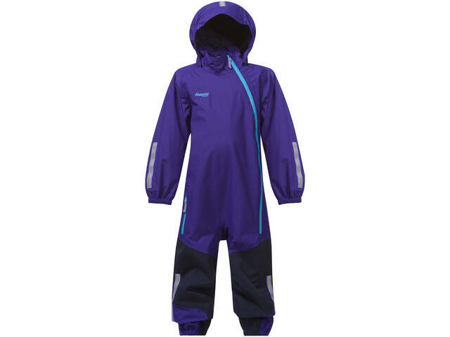 c98876f5 Bergans Lilletind Coverall Kids lavender/navy/br sea blue | Gode ...
